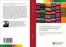 """Capa do livro de A """"Hispanoamérica"""" na aula de Espanhol como Língua Estrangeira"""