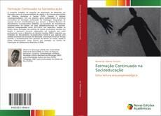 Capa do livro de Formação Continuada na Socioeducação