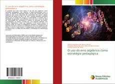 Buchcover von O uso do erro algébrico como estratégia pedagógica