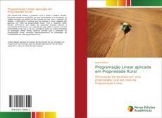 Capa do livro de Programação Linear aplicada em Propriedade Rural