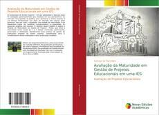 Capa do livro de Avaliação da Maturidade em Gestão de Projetos Educacionais em uma IES