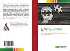 Bookcover of Gestão Pública em Saúde Mental no Brasil