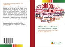 Capa do livro de Ética e Responsabilidade Social nas Organizações