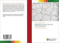 Buchcover von Aspectos do vazio na arte contemporânea
