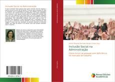 Inclusão Social na Administração kitap kapağı
