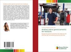 Capa do livro de Análise sobre gerenciamento de resíduos.