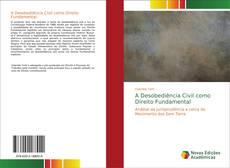 Capa do livro de A Desobediência Civil como Direito Fundamental