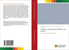 Capa do livro de Justiça e Segurança Pública no Brasil
