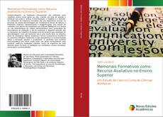 Bookcover of Memoriais Formativos como Recurso Avaliativo no Ensino Superior