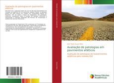 Capa do livro de Avaliação de patologias em pavimentos afálticos