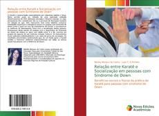 Capa do livro de Relação entre Karatê e Socialização em pessoas com Síndrome de Down