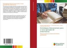 Capa do livro de Estratégias Educacionais para a nova geração de enfermeiros