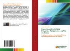 Portada del libro de Impacto Ambiental dos Poluentes Atmosfericos na Vila da Macia
