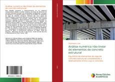 Buchcover von Análise numérica não-linear de elementos de concreto estrutural