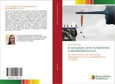 Capa do livro de A corrupção como fundamento a desobediência civil