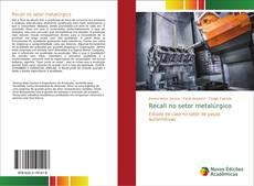 Capa do livro de Recall no setor metalúrgico