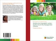 Capa do livro de Análise da linguagem verbo-áudio-visual de propagandas infantis