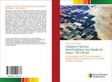 Capa do livro de Cadastro Técnico Multifinalitário da cidade de Itaqui - RS / Brasil