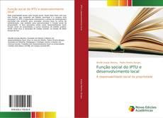 Bookcover of Função social do IPTU e desenvolvimento local