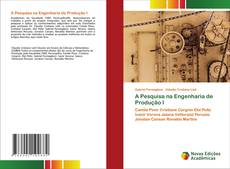 Capa do livro de A Pesquisa na Engenharia de Produção I
