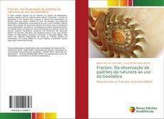 Portada del libro de Fractais: Da observação de padrões da natureza ao uso do GeoGebra
