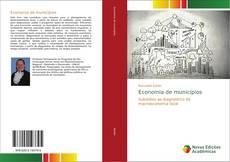 Capa do livro de Economia de municípios