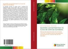 Portada del libro de Questões socioambientais no Curso de Ciências Contábeis