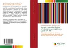 Capa do livro de Modelo de Avaliação dos Níveis de Responsabilidade Social em IES
