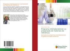 Capa do livro de Programa interlaboratorial e a preparação de materiais de referência