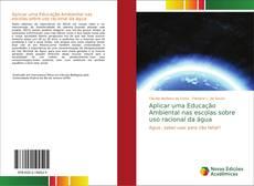 Capa do livro de Aplicar uma Educação Ambiental nas escolas sobre uso racional da água