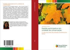 Capa do livro de Gestão participativa em unidade de conservação