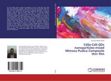 Capa do livro de CdSe-CdS QDs nanoparticles-mixed Mimosa Pudica Composite thin film