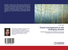 Bookcover of Forest management in the changing climate