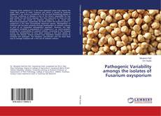 Capa do livro de Pathogenic Variability amongs the isolates of Fusarium oxysporium