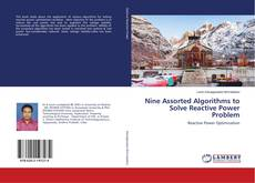 Capa do livro de Nine Assorted Algorithms to Solve Reactive Power Problem
