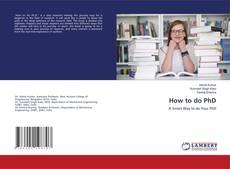 Обложка How to do PhD