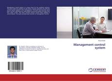 Bookcover of Management control system
