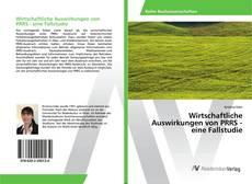 Buchcover von Wirtschaftliche Auswirkungen von PRRS - eine Fallstudie