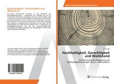 Bookcover of Nachhaltigkeit, Gerechtigkeit und Wohlstand