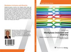 Bookcover of Workplace inclusion and diversity