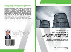 Buchcover von Unterschiede bei Umweltinspektionen bei IPPC-Anlagen in Österreich