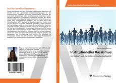 Bookcover of Institutioneller Rassismus