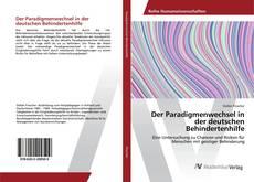 Copertina di Der Paradigmenwechsel in der deutschen Behindertenhilfe