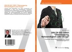 """Portada del libro de DIN EN ISO 14001 """"Überzeugung, Notwendigkeit oder Image"""""""