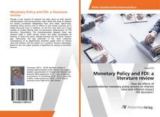 Copertina di Monetary Policy and FDI: a literature review