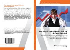 Bookcover of Der Versicherungsvertrieb im Bankenbereich