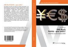 DAS Buch Politik - quo vadis? kitap kapağı