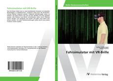 Buchcover von Fahrsimulator mit VR-Brille