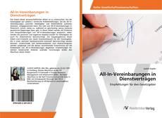 Bookcover of All-In-Vereinbarungen in Dienstverträgen