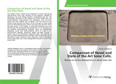 Bookcover of Comparison of Novel and State of the Art Solar Cells.